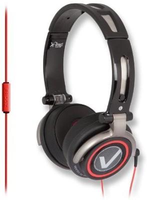 Ifrogz Vertex Headphones With Microphone - Retail Packaging - Black/ Headphones
