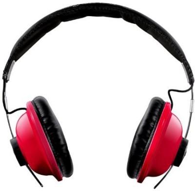 Ihip Ip-Hp88-R Leather Headband Great Stereo Headphone Headphones