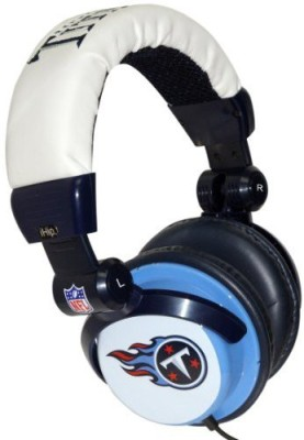 Ihip Nfh22Tet Nfl Tennessee Titans Dj Style Headphones, Blue/ (Discontinued By Manufacturer) Headphones