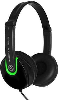 Andrea Communications Andrea Electronics Corporation Stereo Headphone (On-The-Ear) Edu-175 Headphones