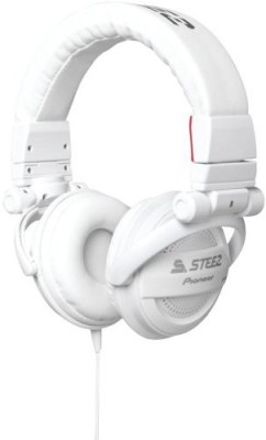 Pioneer Se-D10Mt-W Steez Dubstep Headphones With Microphone () Headphones