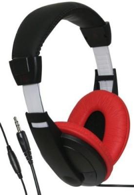 Ihip Ipmhp999R Blk Wht Headphones Extra Bass Lightweight Headphones
