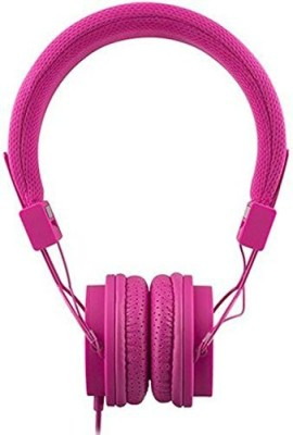 Eco Sound Engineering Eco Sound V20 Stereo Headphones With In-Line Mic - Non-Retail Packaging - Rose Headphones