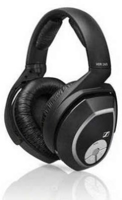 Sennheiser Hdr 165 Accessory Rf Wireless Headphone For Rs 165 System Wired bluetooth Headphones(Black)