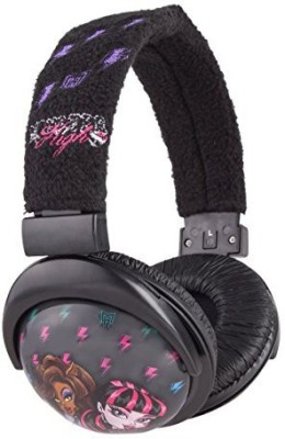 Sakar Monster High Printed Plush Headphones(11648) Headphones
