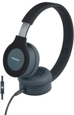 Urban Beatz Flux Headphones W/ Mic & Remote Gray/ Headphones