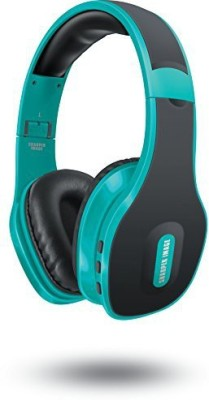 Sharper Image Sbt559Tl Universal Wireless Bluetooth 4.0 Headphones With Mic, Teal Wired bluetooth Headphones