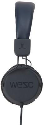 Wesc 0007191990 Piston Street Headphones With Mic, Charcoal Headphones