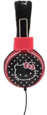 Sakar Hello Kitty Foldable Plush Headphones (35009) Headphones