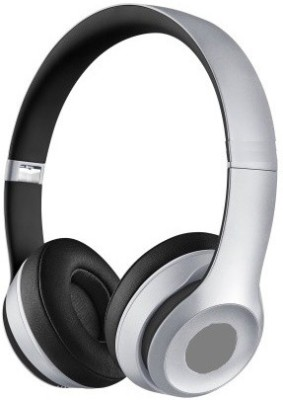 STERN & LOWE Bluetooth Headphone, Mic, Wireless & With 6 month Warranty Color Silver Self Locking Wireless bluetooth Headphones