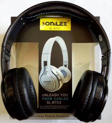 Sonilex BT-03 Stereo Dynamic Bluetooth Headphone Wired bluetooth Headphones