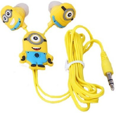 Happoz One Eye Minion Stereo Wired Headphones
