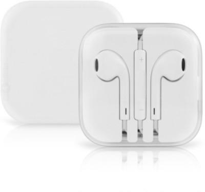 DreamShop Premium Quality Earpod for iphone 5,5S,6,6S,6plus,6SPlus,ipad Stereo Dynamic Earphones Wired Headphones