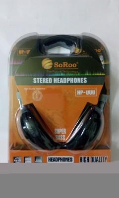 SoRoo HP-UUU Stereo Dynamic Headphone With Mic Wired bluetooth Headphones