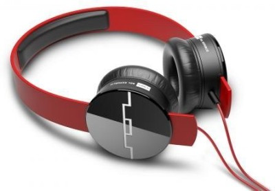 Sol Republic Tracks Mfi Red Stereo Dynamic Headphone Wired Headphones