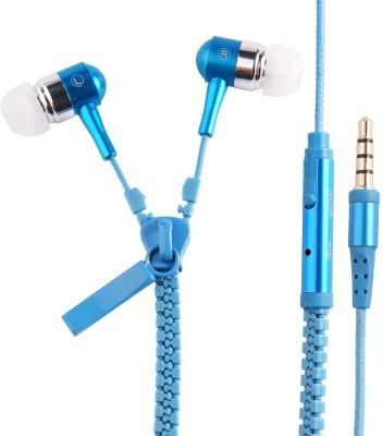 Huppme Zipper Stereo Dynamic Headphone Wired Headphones