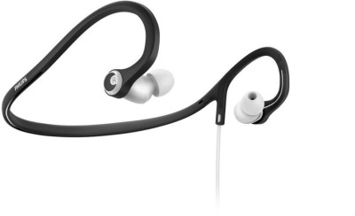 Philips SHQ4305WS/00 Stereo Dynamic Headphone Wired Headphones(Black & White, In the Ear)