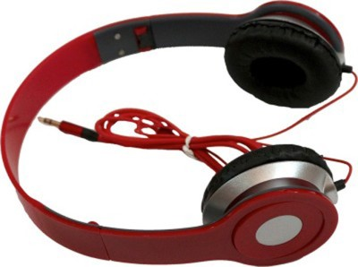 Celphy Solo Red High VGS Stereo Dynamic Headphone Wired Headphones