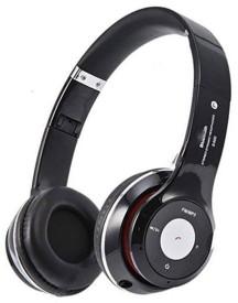 Mezire S460 Wireless Bluetooth Stereo Dynamic Headphone bluetooth Headphones(Black, Over the Ear)