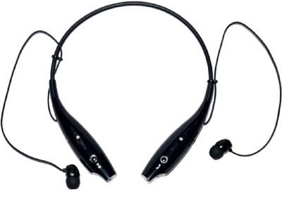 YSB HBS730 BL001 stereo dynamic headphone Wireless bluetooth Headphones(Black, In the Ear)