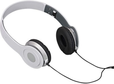 Celphy Solo white High VGS Stereo Dynamic Headphone Wired Headphones