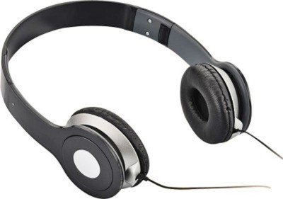 Celphy Solo Black High Quality Stereo Dynamic Headphone Wired Headphones