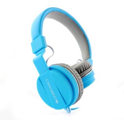 Zebronics Storm Blue Stereo Dynamic Headphone Headphones(Blue, On the Ear)