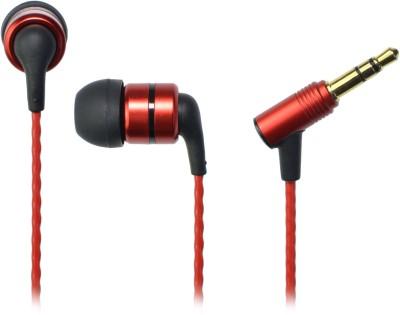 SoundMagic E80 Red Stereo Dynamic Headphone Wired Headphones