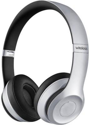 Celphy Solo2 Silver High Premium Stereo Dynamic Headphone Wireless bluetooth Headphones