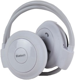 rooq 503wh-015 stereo dynamic headphone bluetooth Headphones(White, In the Ear)