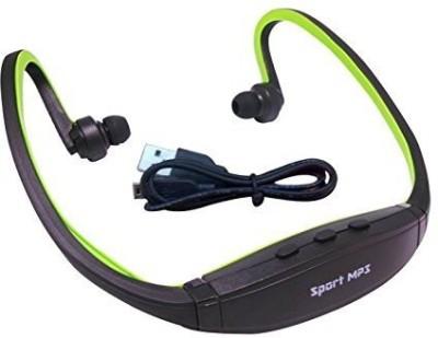 Micomy 3 MP3 Player(Green, 0 Display)