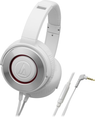 Audio-Technica-ATH-WS550iS-WH-Stereo-Dynamic-With-Mic-Wired-Headphones