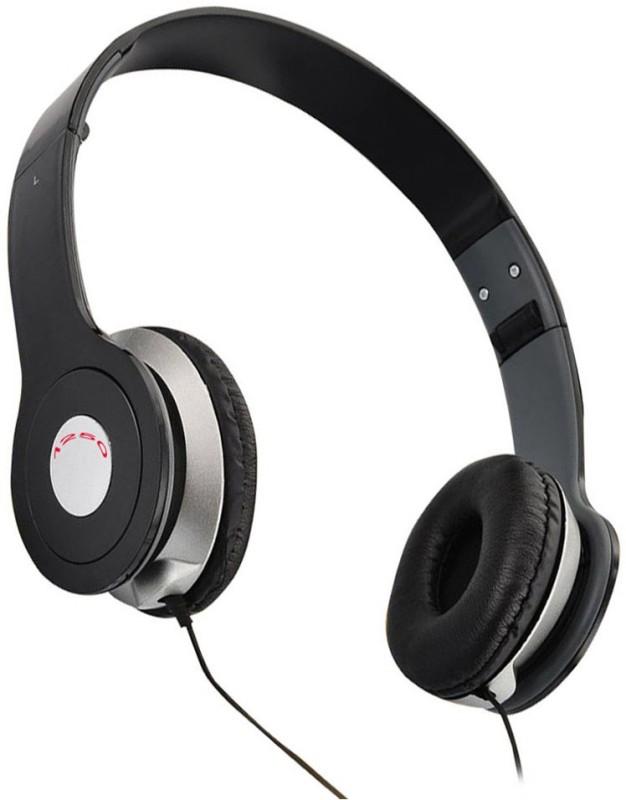 U-Bon Premium 1250 stereo dynamic Headphones(Black, On the Ear)