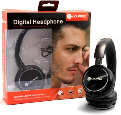 real deal ikare stereo dynamic Wired bluetooth Headphones