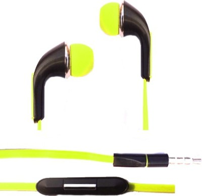 Castech SPN Earphone for Sony Xperia Android Mobile Series Stereo Dynamic Wired bluetooth Headphones(Light Green, In the Ear)