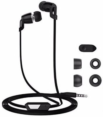 Langsdom JM38 Stereo Dynamic Wired Headphones(Black, In the Ear)