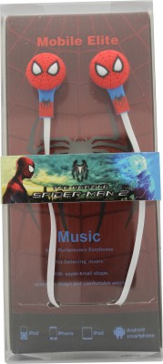 Funkfrontier Spidy Earphone Stereo Earphone Wired Headphones