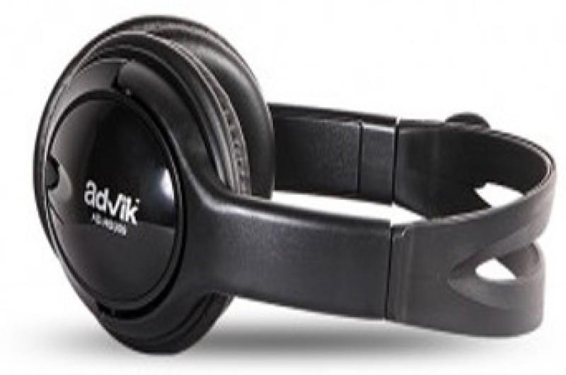 Advik AD-HSU09 Stereo Gaming Headphone Headphones(Black, On the Ear)