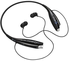 Mobile Mobile HoA HBS-730 Bluetooth Stereo Headset HBS 730 Wireless Bluetooth Mobile Phone Headphone Earpod Sport Earphone with call functions (Black) for LG G Flex 2 Bluetooth Headsets Stereo Headphone bluetooth Headphones(Black, In the Ear)