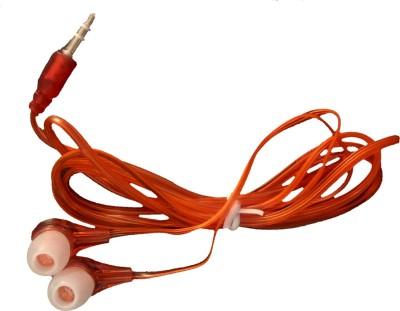 Silco MP3 Transparent Handsfree/ Earphone Stereo Headphone Wired Headphones