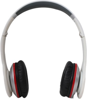 Callmate MS980 Stereo bluetooth Headphones(White, On the Ear)