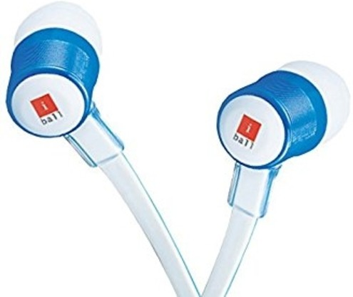 iBall Auric B9 Stereo Wired Headphones(White, In the Ear)