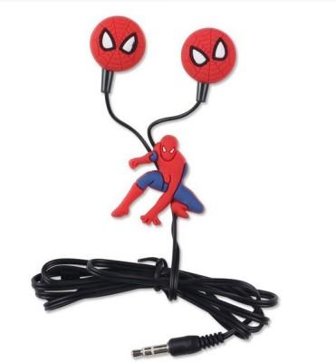 Happoz Spiderman Stereo Wired Headphones