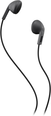 Skullcandy S2LEZ-J567 Stereo Wired Headphones(Charcoal Black, In the Ear)