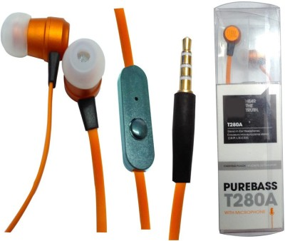 BSEnterprise BS Enterprise Powerful Base Earphone For Spice Dual Core Phablet Stereo Wired Headphones available at Flipkart for Rs.499
