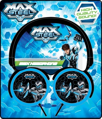 Max Steel Headphones Stereo Wired Headphones