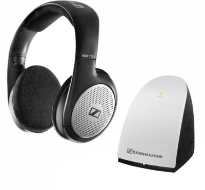 Sennheiser RS 110 -8 II Stereo Wireless Headphones(Black, Over the Ear)