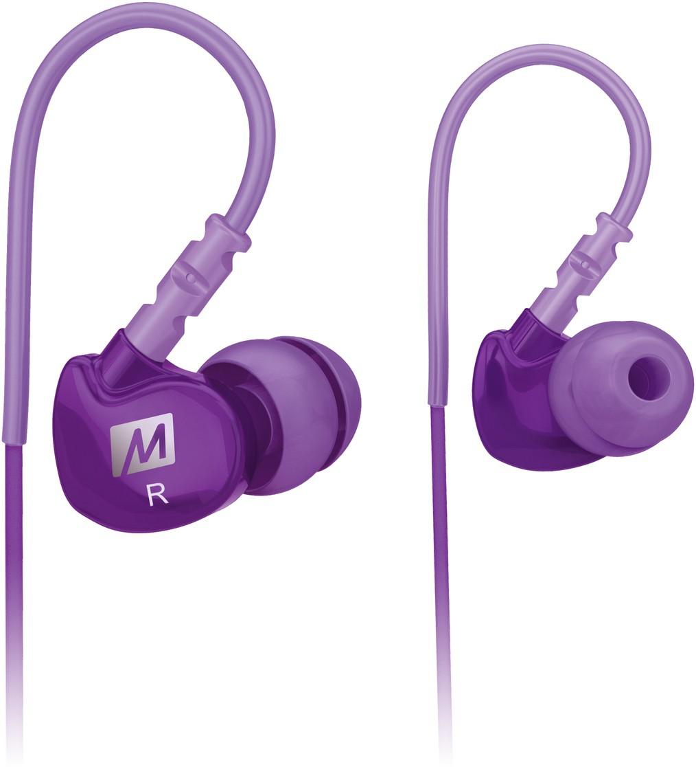 MEE Audio M6-PP Headphones(Purple, In the Ear)