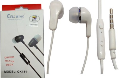 BSEnterprise BS Enterprise Stereo Sound Handsfree Earphone For Karbonn Titanium S25 Klick Stereo Wired Headphones