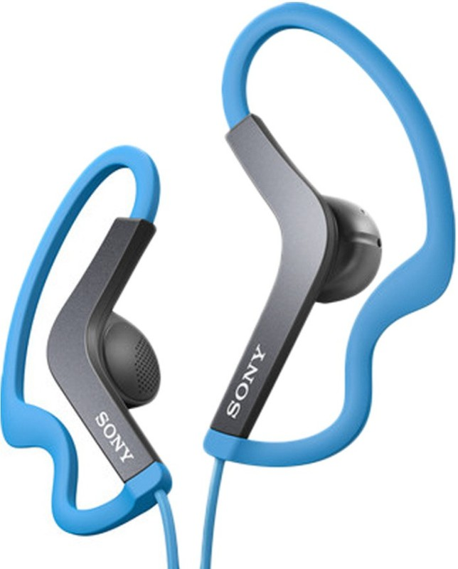 Sony MDR-AS200_Blue Stereo Wired Headphones(Blue, On the Ear)